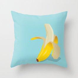 Appealing Banana Throw Pillow