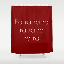 A Christmas Story Fa ra ra Deck the Halls Christmas Carol Shower Curtain