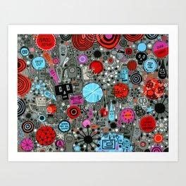 Hyperdoodle 05 Art Print