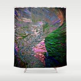 color explotion #2 Shower Curtain