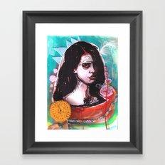 Prize Fighter Framed Art Print