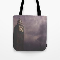 Big Ben in darkness Tote Bag