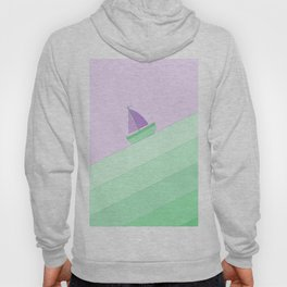 Boat on the Water #2 Hoody