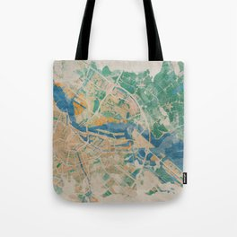 Amsterdam, the watercolor beauty Tote Bag