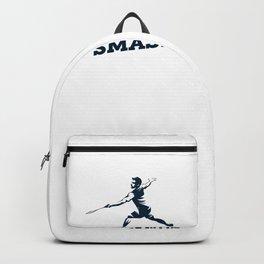 Badminton Player Backpack