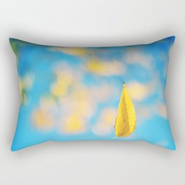 Yellow & blue Rectangular Pillow