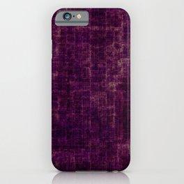 Dirty trendy purple iPhone Case