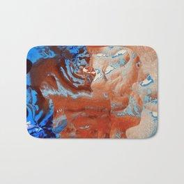 Where the colors collide Bath Mat