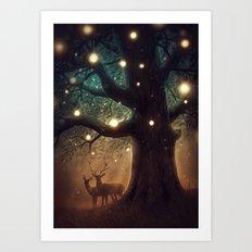 Summer Night Art Print