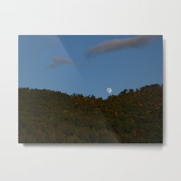 Mountain Moonrise Metal Print
