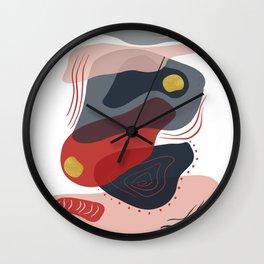 Modern minimal forms 8 Wall Clock