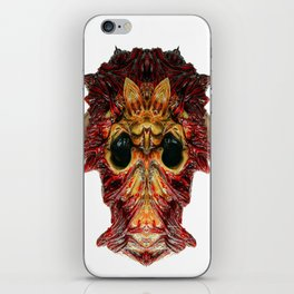 Halloween Mask 0214 iPhone Skin