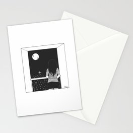 Noches de luna Stationery Cards