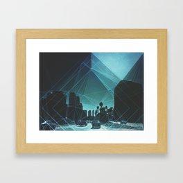 tron. Framed Art Print