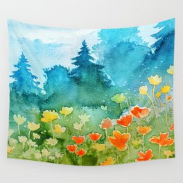 Spring scenery #1 Wall Tapestry