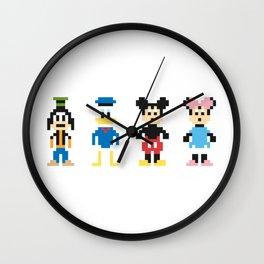 The Pixel Gang Wall Clock
