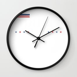 Elect Functioning Adults 2020 Blue Vote the Wave Wall Clock