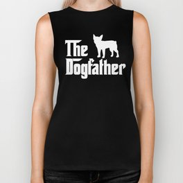 Mens FRENCH BULLDOG DOG FATHER Boston Terrier Gift boston Biker Tank