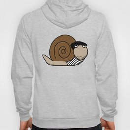 French Snail ~ Escargot Hoody