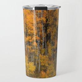 Colorful Idaho Forest Travel Mug