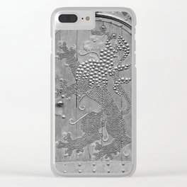 An Old Door Clear iPhone Case