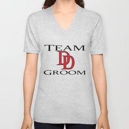 DareDevil Team Groom Unisex V-Neck