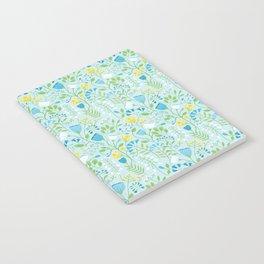 Blue Wildflowers Notebook