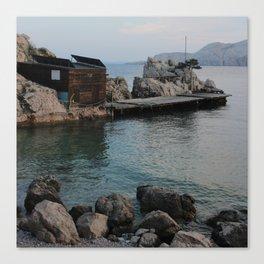 Nr Fish Canvas Print