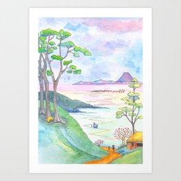 A Japanese Sight Art Print