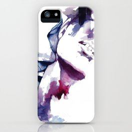 But we're just two strangers, drowning each other iPhone Case