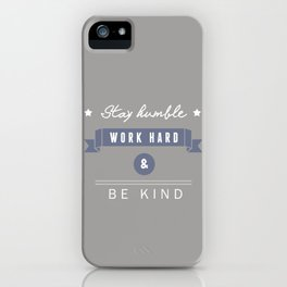 At work iPhone Case