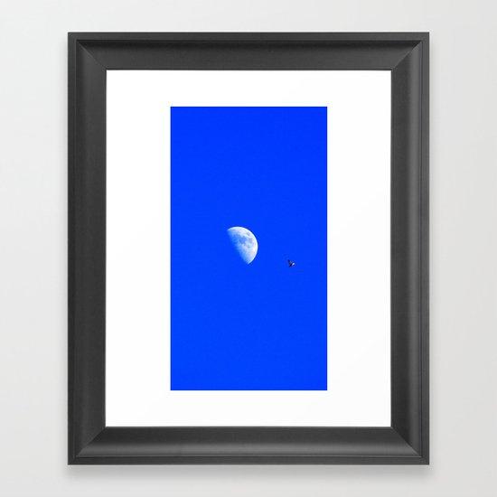 Flight of the Navigator Framed Art Print