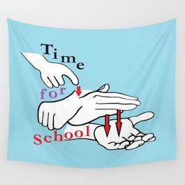 ASL Time for School Wall Tapestry
