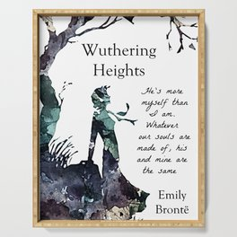 Wuthering Heights Emily Bronte Serving Tray