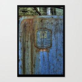 D Square Canvas Print