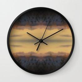 Misty Dusk Wall Clock