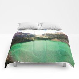 Turquoise Escape Comforters