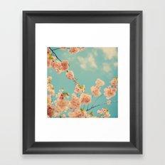 Splash of Pink Framed Art Print