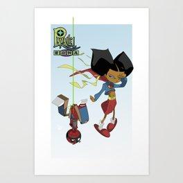 Super Gyts Art Print