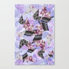 FLORAL HYPNOSIS  Canvas Print