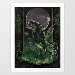 The Deep One Art Print