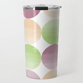 Watercolor Grapes Travel Mug