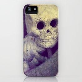Skeleton Baby iPhone Case