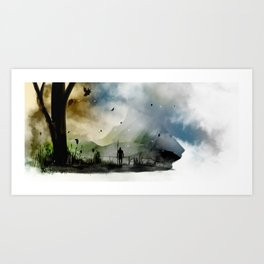 Mountain Pass Art Print