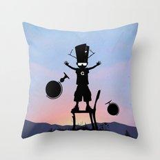 Galactu s Kid Throw Pillow