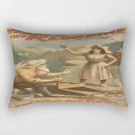 Vintage poster - Heart of the Klondike Rectangular Pillow