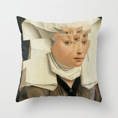 van Weyden und das Laster Throw Pillow