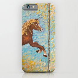 Matilda the Vintage Carousel Horse iPhone Case