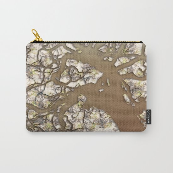 Tree (abstract) Carry-All Pouch