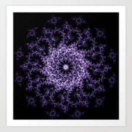 Chantilly lace Art Print
